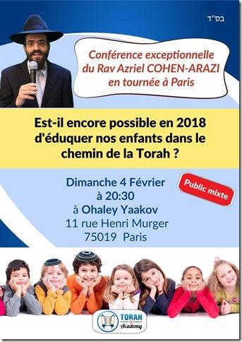 conference Rav Cohen Arazi 04022018