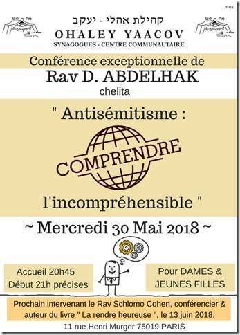 cours dames rav Abdelhak 30052018