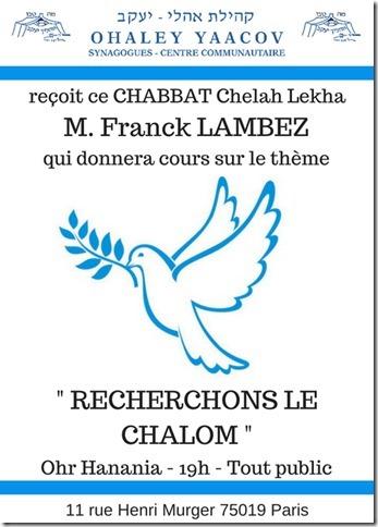 CHABBAT Chelah Lekha (1)