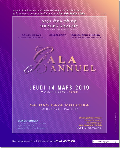 affiche GALA 2019